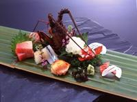 【伊勢海老又は鮑付きで豪勢に!】〜お好きな食べ方をお選びできます〜