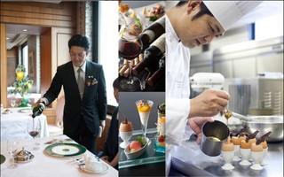 バースデープランホテル最上階の眺望とともに至福のフルコースで(日本一を目指す朝食バイキング付