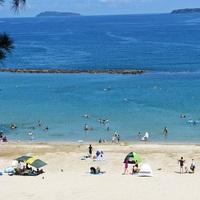 【夏限定!ファミリープラン】菊ヶ浜海水浴場は目の前、水着のままビーチへGO!≪お子様フリードリンク≫
