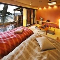 【自家源泉】最上階オーシャンビュー露天風呂付客室■和洋室■