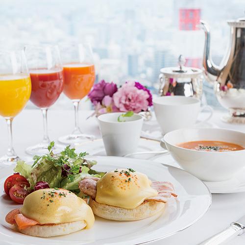 【ホテル阪急インターナショナル×朝食付き】〜全客室26階以上の高層階〜