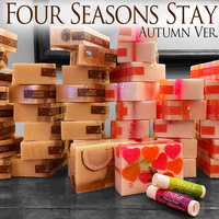 FOUR SEASONS STAY 〜AUTUMN Ver.〜(maui ソープ&リップバーム付き)