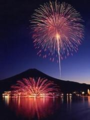 ◎冬花火・富士山・河口湖◎ぜ〜んぶお部屋からプラン【当館人気】