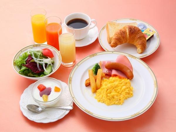 【パワーモーニングプラン♪】〜朝食付き〜