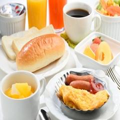 【朝食付きプラン】和洋定食♪無料平面駐車場完備■全室Wi−Fi無料接続