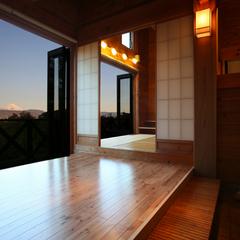 離れフジヤマ・専用露天風呂付き客室