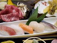 知床和牛&握り寿司 和の味覚会席プラン