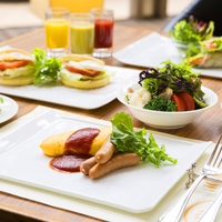 陽光注ぐ朝のレストランで50種類以上の和洋バイキング★オムレツやフレンチトーストのライブクッキングも