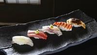 【17:30のお席】寿司「はなの」 特上おまかせ寿司ディナーコース付きステイ(2食付)