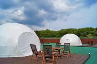 手ぶらでキャンプ!那須の自然を満喫!グランピングプラン|1泊2食付夕食BBQ
