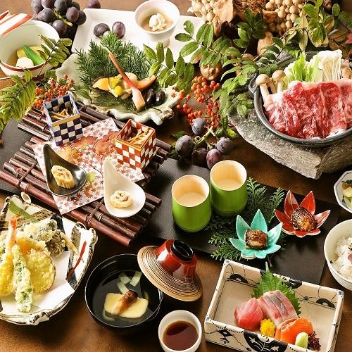 【ディナーセレクション和会席】軽井沢の優雅な休日 日本料理やまぼうし 『一つ星・季節のメニュー』