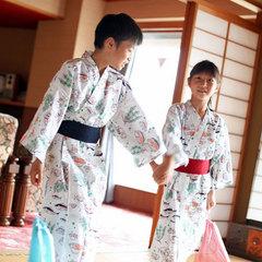 【ファミリープラン】お子様へかわいい浴衣 & プチプレゼント付 (*^^*)