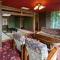 大人4名様以上のご宿泊、通常料金で 禁煙特別室へご案内!