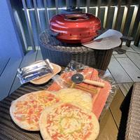【1日1組限定】お部屋のテラスでピザ焼き体験プラン♪