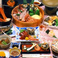 【加茂湖を望む10畳】海鮮浜焼き付☆お料理グレードUP