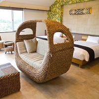 石垣島絶景スポット「野底マーペ」を望むマウンテンビューツインルームにステイ(素泊まり)