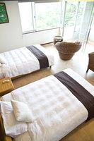 カップルに人気!石垣島ビーチ前ホテルステイ!海・庭園を眺め過ごす広々45㎡オーシャンビュー/朝食なし