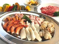 魚介&お肉の両方楽しむ!みんなでジュージュー盛り上がろう!【プレミアムバーベキュープラン】