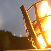 かがり火に包まれ絶景夜景をバックに乾杯!焼肉食べ放題・飲み放題付ビアガーデンプラン【1泊夕食付】