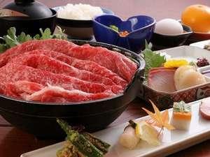 夕食は松阪牛鍋付きコース♪グルメプラン★松阪牛をリーズナブルに♪