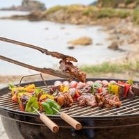 夏だ!海を見ながら【BBQプラン♪】贅沢☆国産牛・八鹿豚・カニ!お造りや焼きマシュマロも♪
