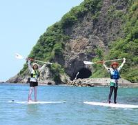 【SUP+遊コース】スタンドアップパドルサーフィンをやってみたい方集まれー★初心者大歓迎★体験料込み