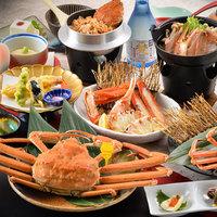 ★あつあつ越前蟹など蟹料理全7品付…≪越前蟹堪能コース≫