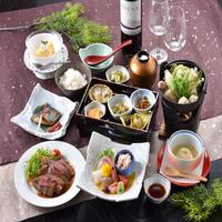 ≪美食会席≫冬ver.!旬のお造り六種盛り&メインは三つの中から選べます♪@11800円〜