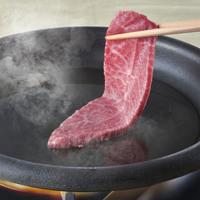 【夕食・朝食付】(飲み放題付)和牛ロース肉を使った鉄板焼きとすき焼きの『和牛すき焼き会席』|2月迄