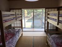 朝食付きエアコン付6人室