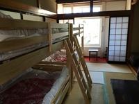 朝食付きエアコン付5人室