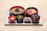 """世界が誇る""""和""""を贅沢に♪お寿司&日本そば御膳2食付きプラン"""
