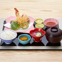 とれたて食材をカリッと天ぷらで♪天ぷら御膳2食付きプラン