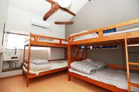 Room4: ドミトリーミックスタイプ 4名様のお部屋