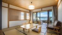【風露】源泉露天風呂付客室 ワイドタイプ2階 201