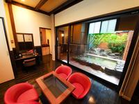【礼】内湯・露天風呂付き離れの一軒家(メゾネット・和室)