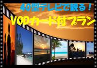 VOD付 素泊まり〜40型液晶テレビで映画見放題〜