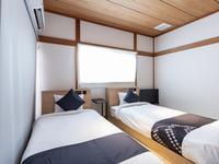 【禁煙】和室1〜2名様(バスなし・シングルベッド2台)