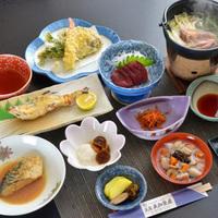 名物「そば粥」と会津の郷土料理、源泉かけ流し温泉を堪能/2食付【ふくしまプライド。】