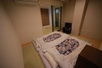 【禁煙】個室ツイン シャワー・トイレ付き部屋