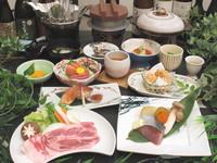 【春】<平日スペシャル> 「春野菜の鶏団子鍋」「蔵王和豚のすき焼き」「桜えびの釜飯」