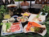 【1日5組限定】 <味覚スペシャル>「ズワイガニ」「蔵王和豚のすき焼き」「寒ブリの味噌陶板焼き」