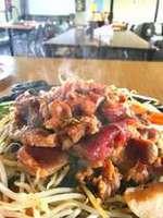 【ジンギスカン】の夕食1泊2食付きプラン 肉と野菜のセット(ライスは付かないです)