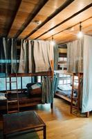 男女混合2段ベッド式ドミトリールーム
