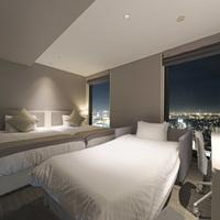 【禁煙】スーペリアツインルーム+ソファー型ベッド(高層階)