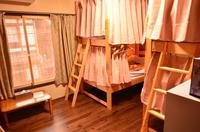 ◆男性専用相部屋◆ 2段ベッド(最大6人)