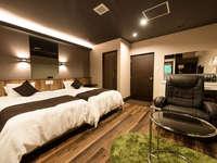 【半露天風呂付客室】洋室DXツインルーム■30平米■