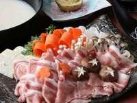 千代幻豚の豆乳鍋プラン 信州野菜も豊富に!(2名様〜)