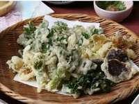 野菜王国! 信州野菜の天婦羅コース