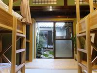 2段ベッド使用の相部屋タイプ